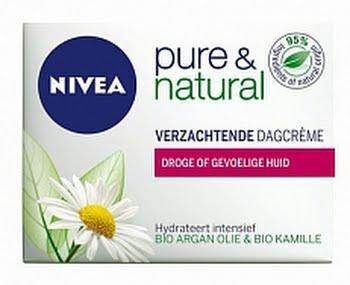 Nivea Visage Dagcreme Pure And Natural D/s 50ml