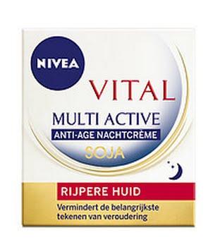 Nivea Visage Nachtcreme Multi-active Rijpere Huid 50ml