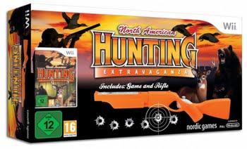 North American Hunting + Gun (Bundle) (Nintendo Wii)