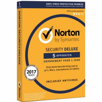 Norton Security Deluxe 3.0 1 jaar abonnement