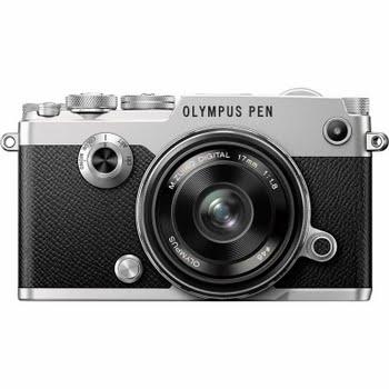 Olympus PEN-F + 17mm f/1.8 Zilver