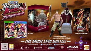 One Piece Burning Blood Marineford Edition (PS4)