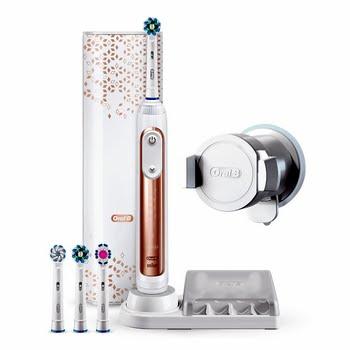 Oral-B Genius 9000S Volwassene Roterende-oscillerende tandenborstel Rose Gold