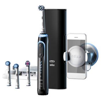 Oral-B Genius 9000S Zwarte Elektrische Tandenborstel