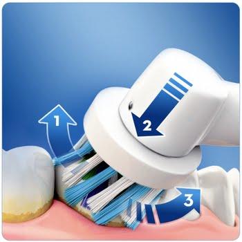 Oral-B Pro 2 2700 CrossAction Volwassene Blauw