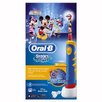 Oral-B Stages Power Kids - Elektrische tandenborstel met Disney Mickey Mouse