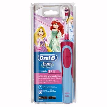 Oral-B Stages Power Kids - Elektrische tandenborstel met Disney Princess