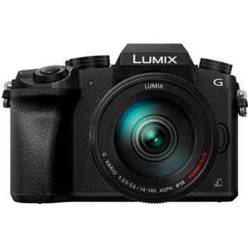 Panasonic Lumix DMC-G7 + 14-140mm f/3.5-5.6 zwart
