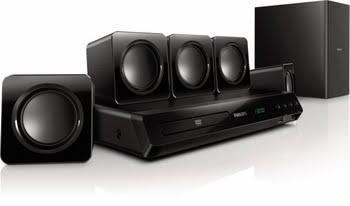 Philips 5.1 Home cinema met DVD-weergave