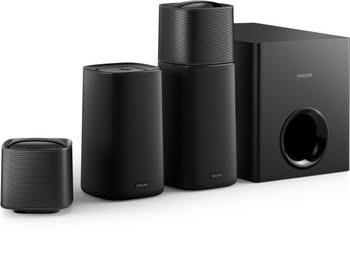 Philips Draadloze Home Cinema Surround Sound-luidsprekers