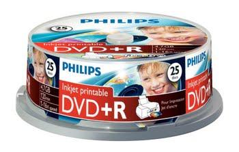 Philips DVD+R DR4I6B25F/00