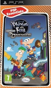 Phineas and Ferb Across the 2nd Dimension (essentials) (Sony PSP)