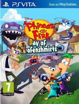 Phineas & Ferb Day of Doofenshmirtz (PS Vita)