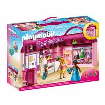 PLAYMOBIL City Life meeneem fashionshop 6862
