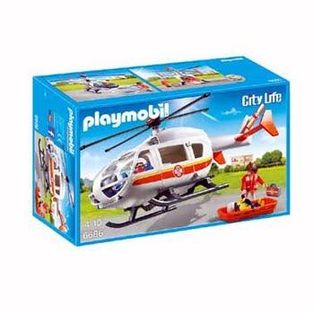 PLAYMOBIL City Life Traumahelikopter 6686