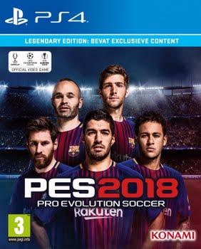 Pro Evolution Soccer 2018 (Legendary Edition) (PS4)