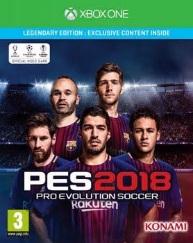 Pro Evolution Soccer 2018 (Legendary Edition) (Xbox One)