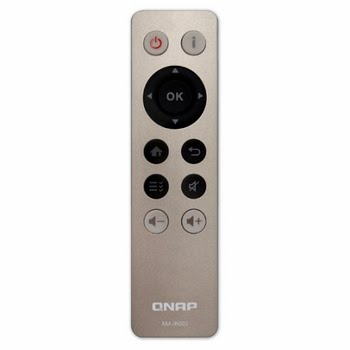 QNAP RM-IR002 Drukknopen Grijs afstandsbediening