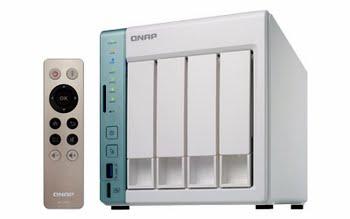 QNAP TS-451A NAS Toren Ethernet LAN Groen, Wit