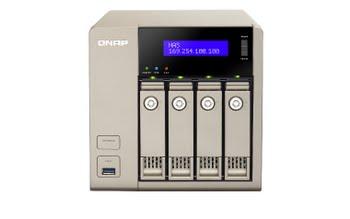 QNAP TVS-463 NAS Toren Ethernet LAN Goud