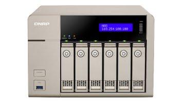 QNAP TVS-663 NAS Toren Ethernet LAN Goud