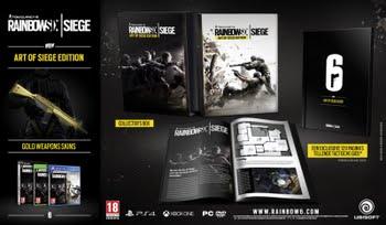 Rainbow Six Siege Art of Siege Edition (Xbox One)