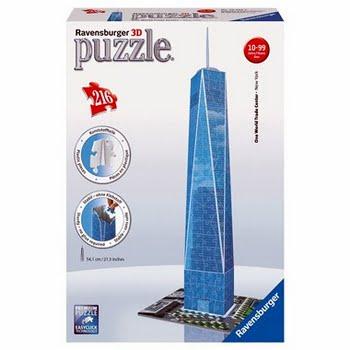 Ravensburger 3D puzzel World Trade Center - 216 stukjes