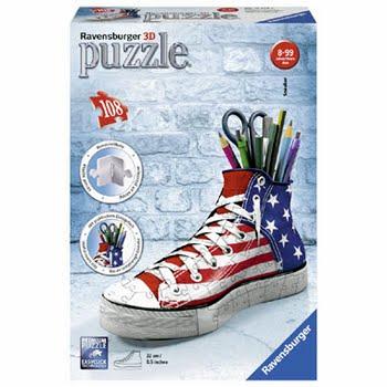 Ravensburger Amerikaanse stijl sneaker 3D puzzel - 108 stukjes
