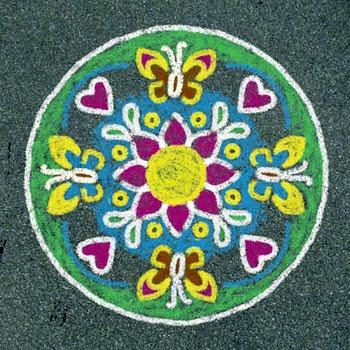 Ravensburger Outdoor Mandala-Designer bloemen en vlinders