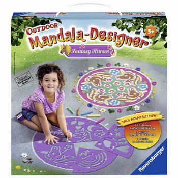Ravensburger Outdoor Mandala-Designer fantasie paarden