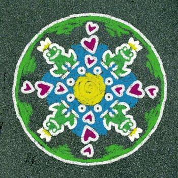 Ravensburger Outdoor Mandala-Designer romantische tuin