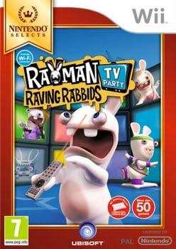Rayman Raving Rabbids TV Party (Nintendo Selects) (Nintendo Wii)