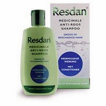 Resdan Shampoo Droog / Beschadigd Medicinale Anti-roos Shampoo 125ml