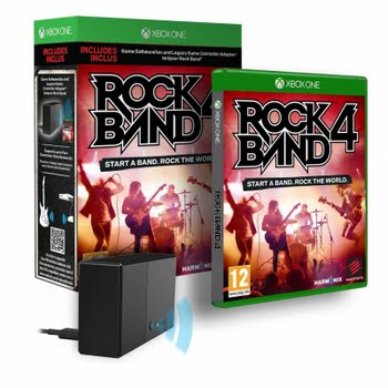 Rock Band 4 + Adapter (Xbox One)