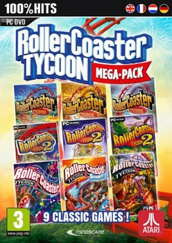 Rollercoaster Tycoon Mega Pack (9 Pack) (PC)