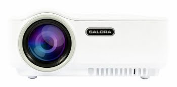 Salora 43BHD1500 Draagbare projector 1500ANSI lumens LED WVGA (854x480) Wit beamer/projector