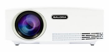 Salora 43BHD1800 Draagbare projector 1800ANSI lumens LED Wit beamer/projector