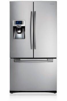 Samsung RFG23UERS Vrijstaand 520l A+ Zilver amerikaanse koelkast