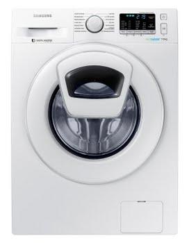 Samsung WW70K5400WW Vrijstaand Voorbelading 7kg 1400RPM A+++-30% Wit wasmachine