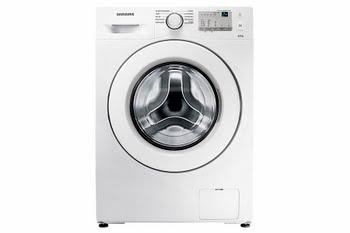 Samsung WW80J3473KW Vrijstaand Voorbelading 8kg 1400RPM A+++ Wit wasmachine