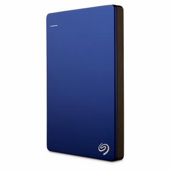 Seagate Backup Plus 2TB Backup Plus Slim draagbare schijf, Blauw