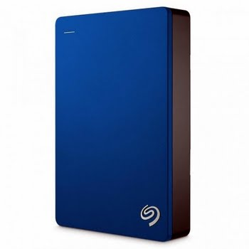 Seagate Backup Plus Portable USB Type-A 3.0 (3.1 Gen 1) 5000GB Blauw
