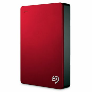 Seagate Backup Plus Portable USB Type-A 3.0 (3.1 Gen 1) 5000GB Rood