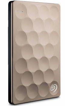 Seagate Backup Plus Ultra Slim 2TB 2000GB Goud