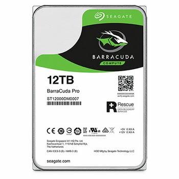 Seagate Barracuda Pro 12000GB SATA III interne harde schijf