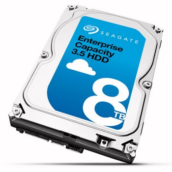 Seagate Enterprise 8TB 8000GB SATA interne harde schijf