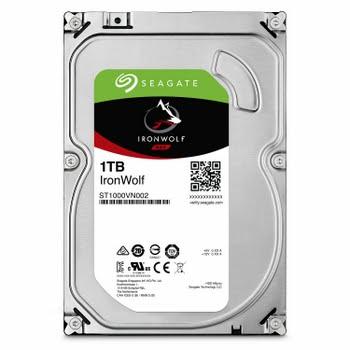 Seagate NAS HDD IronWolf 1TB 1000GB SATA III interne harde schijf