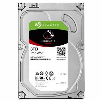 Seagate NAS HDD IronWolf 3TB 3000GB SATA III