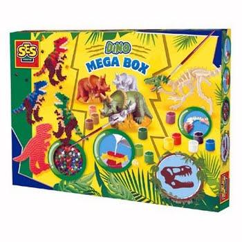 SES Creative mega box dino's
