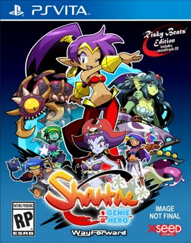 Shantae Half Genie Hero (Risky Beats Edition) (PS Vita)